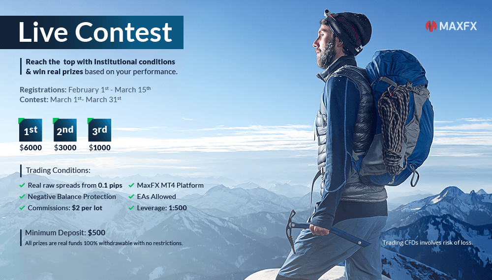 Forex live contest